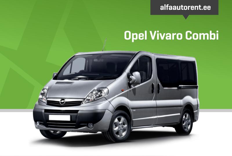 Opel Vivaro Combi Long (2014)