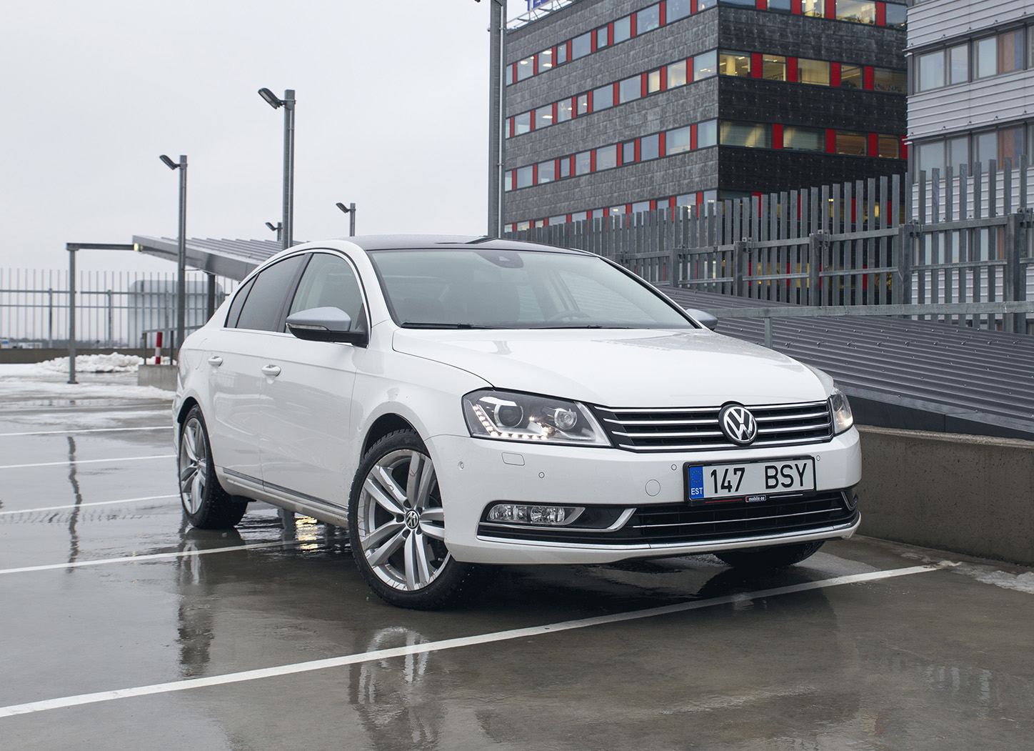VW Passat Highline 4Motion (2012)